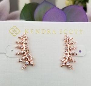 Kendra Scott, Laurie, Rose Gold, Ear Climb…